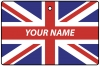 Personalised Great Britain Flag