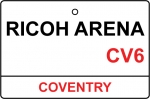 Coventry / Ricoh Arena Street Sign