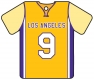 Personalised Los Angeles LA Lakers Basketball Shirt