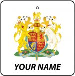 Personalised United Kingdom Coat of Arms