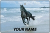 Personalised Black Horse