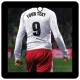 Custom Football/Soccer Player (White, Red)