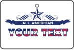 Custom All American Your Text