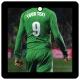 Custom Football / Soccer Player (All Green)
