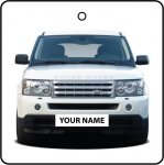 Your Name White Range Rover Sport