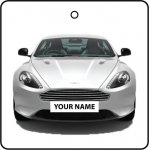Your Name White Aston Martin DB9