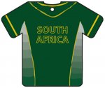 Personalised South Africa Cricket Shirt