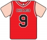 Personalised Chicago Bulls Basketball Shirt
