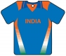 Personalised India Cricket Shirt