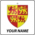 Personalised Wales Coat of Arms