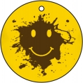Mud Smiley Face