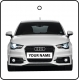 Your Name White Audi A1