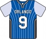 Personalised Orlando Magic Basketball Shirt
