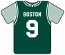 Personalised Boston Celtics Basketball Shirt