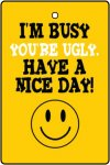I'm Busy Your Ugly