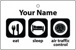 Personalised Eat Sleep Air Traffic Controller