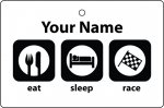 Personalised Eat Sleep Racing