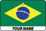 Personalised Brazil Flag