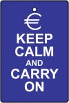 Euro Keep Calm And Carry On