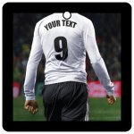 Custom Football/Soccer Player (White, Black)