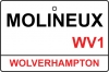 Wolverhampton / Molineux Street Sign