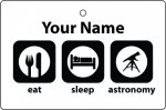 Personalised Eat Sleep Astronomy