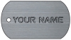 Your Name Dog Tag