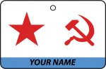 Personalised Soviet Union Navy Ensign