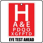 Eye Test Ahead