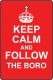 Keep Calm And Follow Middlesbrough
