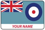 Personalised British RAF Air Force Ensign