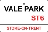 Port Vale / Vale Park Street Sign