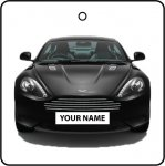 Your Name Black Aston Martin DB9