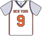 Personalised New York Knicks Basketball Shirt