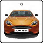 Your Name Orange Aston Martin DB9