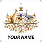 Personalised Australia Coat of Arms