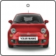 Your Name Red Fiat 500