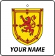 Personalised Scotland Coat of Arms