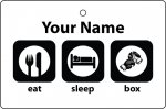 Personalised Eat Sleep Boxing
