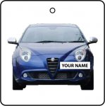 Your Name Blue Alfa Romeo Mito