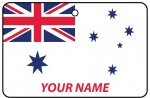 Personalised Australian Navy Ensign