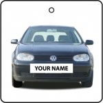 Your Name Volkswagen Golf - Black