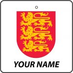 Personalised England Coat of Arms