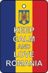 Keep Calm And Love Romania