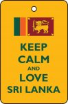 Keep Calm And Love Sri Lanka