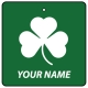 Personalised Irish Shamrock