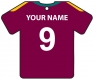 Personalised West Indies Cricket Shirt