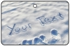 Personalised Snow Writing