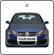 Your Name Volkswagen Golf - Blue