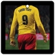 Custom Football/Soccer Player (Yellow, Red)
